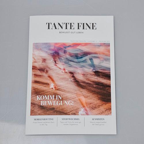 Tante Fine Magazin - Ausgabe 12