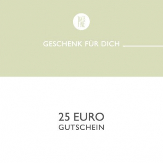 Gutschein zum Ausdrucken - 25€