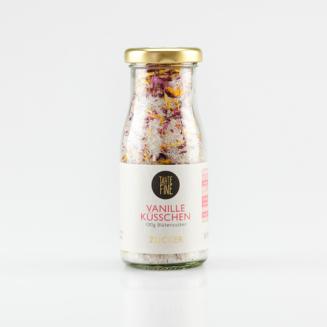 VANILLEKÜSSCHEN - Xylit mit essbaren Blüten